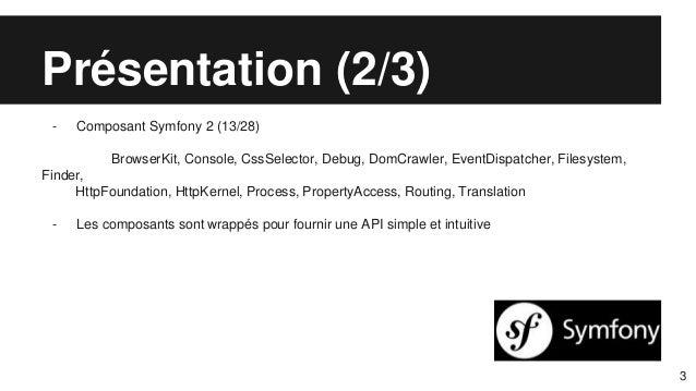 Laravel  yet another framework Slide 3
