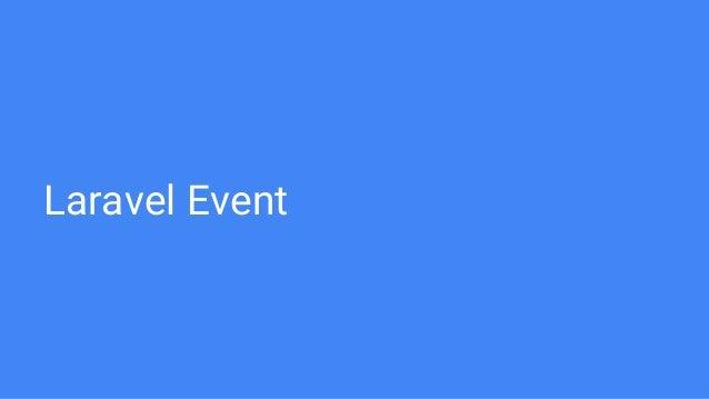 Laravel Events And Queue