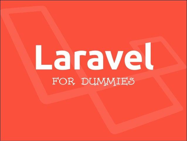 LaravelFOR DUMMIES