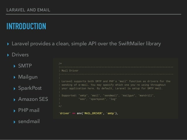 Laravel mailables with mail trap io