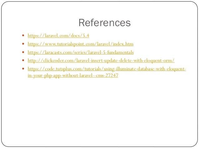Laravel Presentation