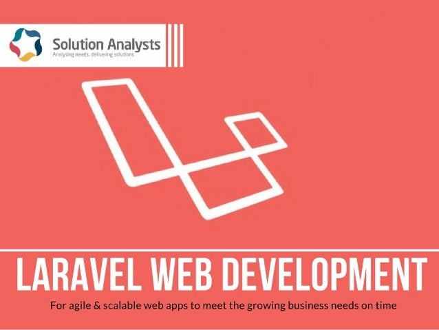 Laravel Web Development Services Have you heard about Laravel? It is the most popular PHP framework. Laravel offers the br...
