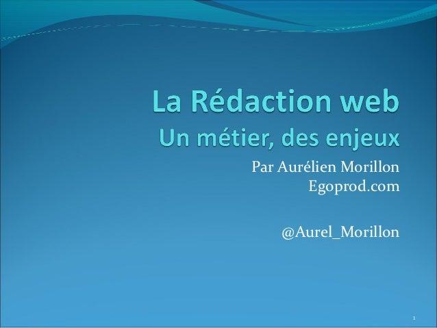 Par Aurélien Morillon        Egoprod.com    @Aurel_Morillon                        1