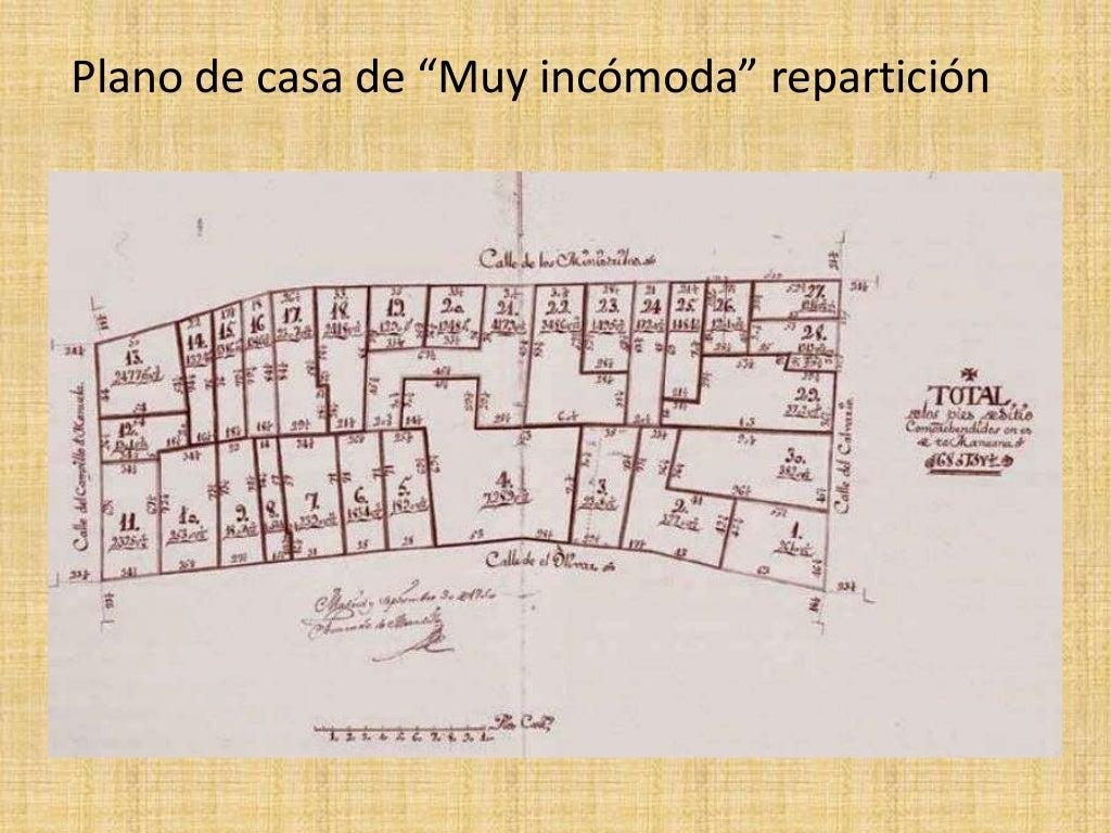 """Plano de casa de """"Muy incómoda"""" repartición"""