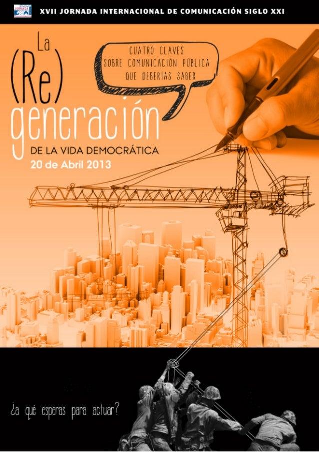 La (Re)generaciónPROGRAMA                              X X V II   J O R NA D A INTE R NACI O NAL D E                      ...