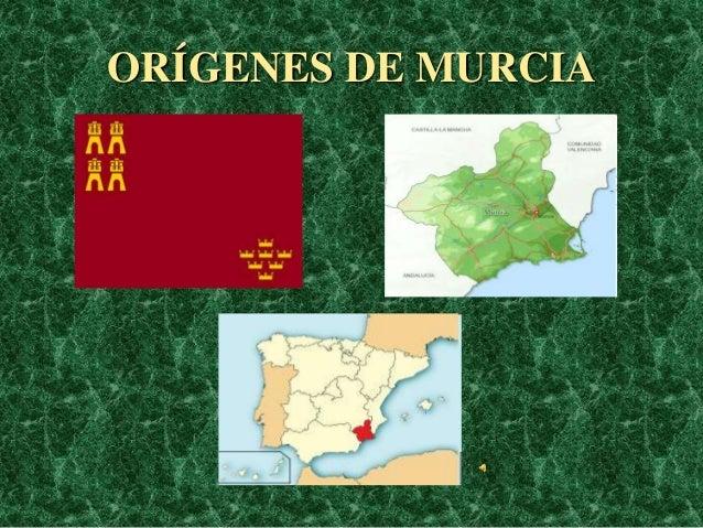 ORÍGENES DE MURCIA