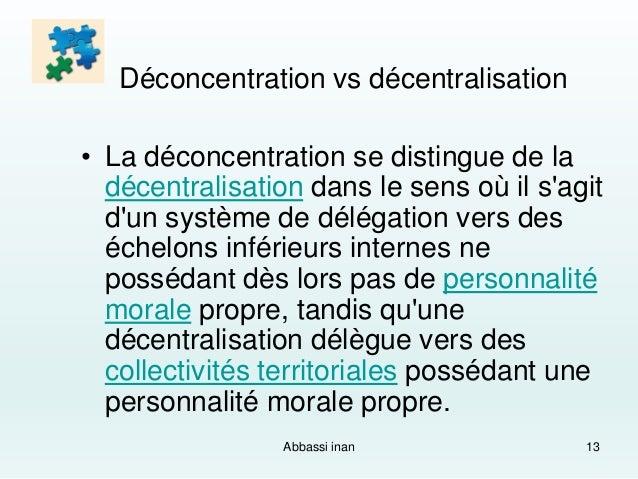 Decentralisation et deconcentration dissertation