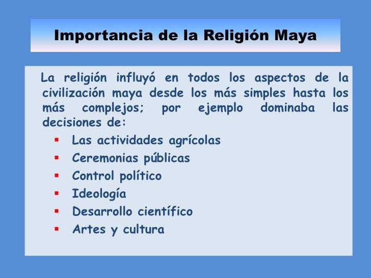 La religi n de los mayas for Informacion de la cultura maya