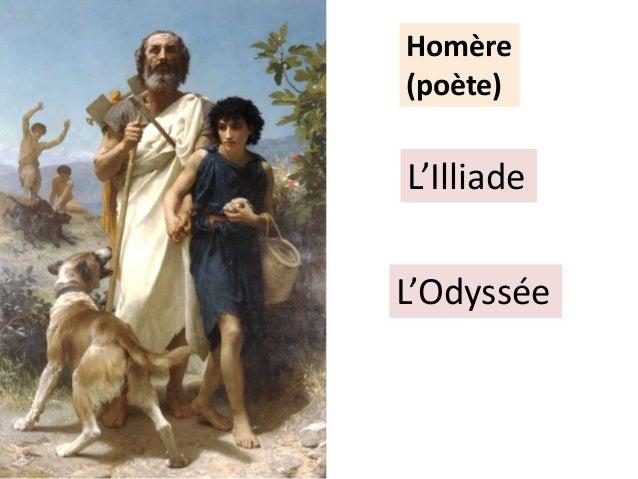 Homère (poète) L'Illiade L'Odyssée