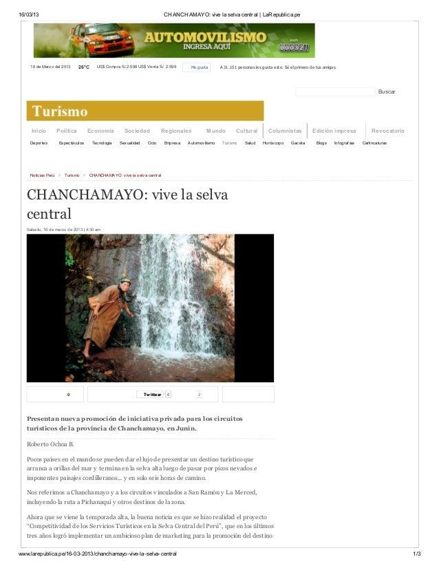 16/03/13 CHANCHAMAYO: vive la selva central   LaRepublica.pewww.larepublica.pe/16-03-2013/chanchamayo-vive-la-selva-centra...