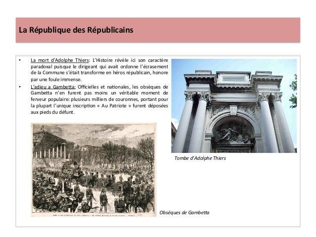 La  République  des  Républicains   • La   mort   d'Adolphe   Thiers:   L'Histoire   révèle   ici  ...