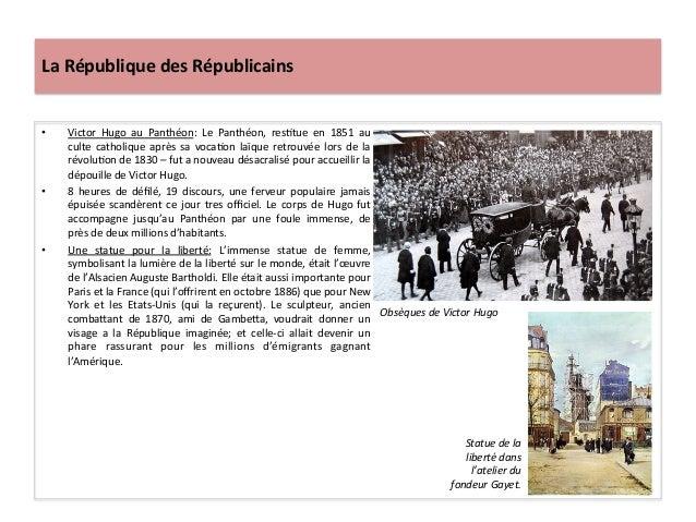 La  République  des  Républicains   • Victor   Hugo   au   Panthéon:   Le   Panthéon,   resCtue   e...