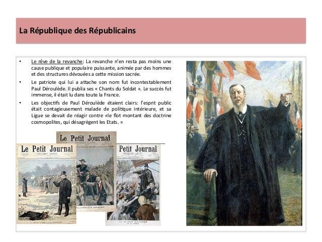 La  République  des  Républicains   • Le  rêve  de  la  revanche:  La  revanche  n'en  resta  p...