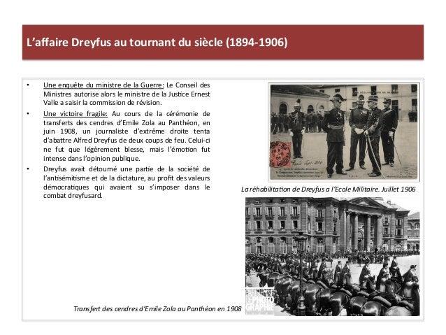 L'affaire  Dreyfus  au  tournant  du  siècle  (1894-‐1906)   • Une  enquête  du  ministre  de  la...