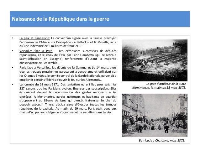 Naissance  de  la  République  dans  la  guerre   • La   paix   et   l'annexion:   La   convenCon...