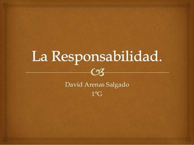 David Arenas Salgado 1°G