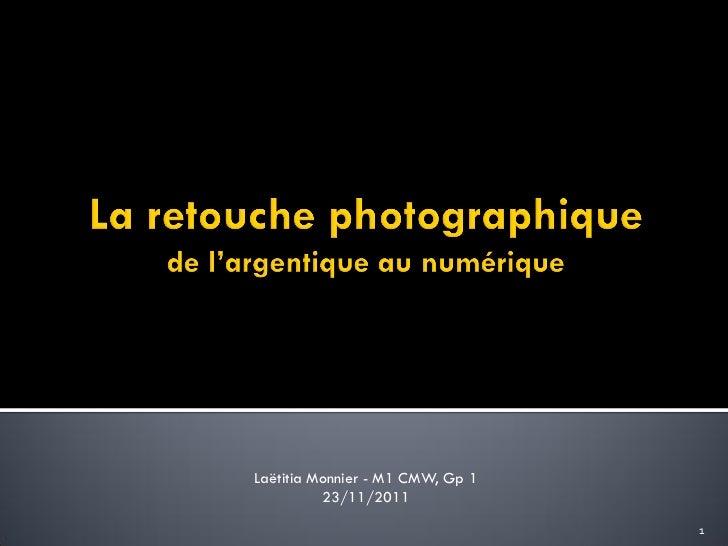 Laëtitia Monnier - M1 CMW, Gp 1          23/11/2011                                  1