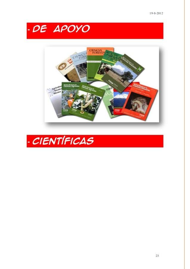 19-8-2012- De Apoyo- Científicas                    23