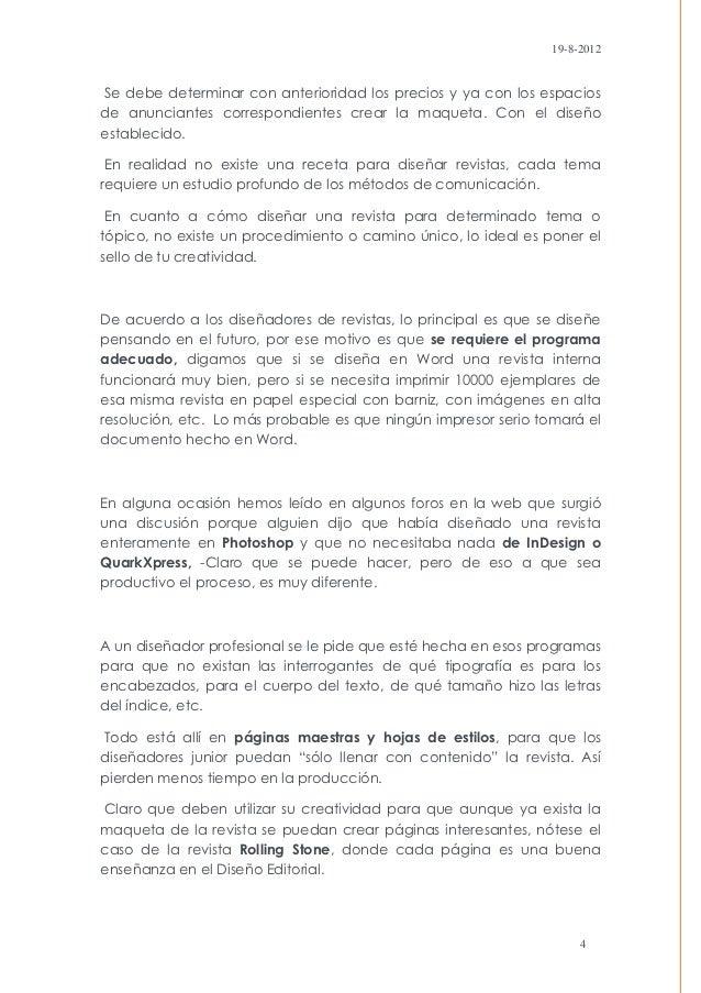 19-8-2012Se debe determinar con anterioridad los precios y ya con los espaciosde anunciantes correspondientes crear la maq...
