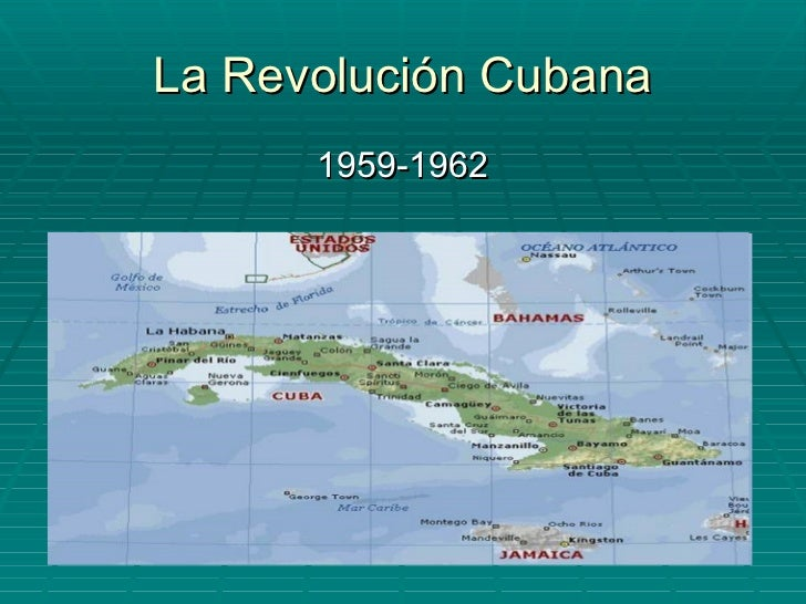 La Revolución Cubana <ul><li>1959-1962 </li></ul>