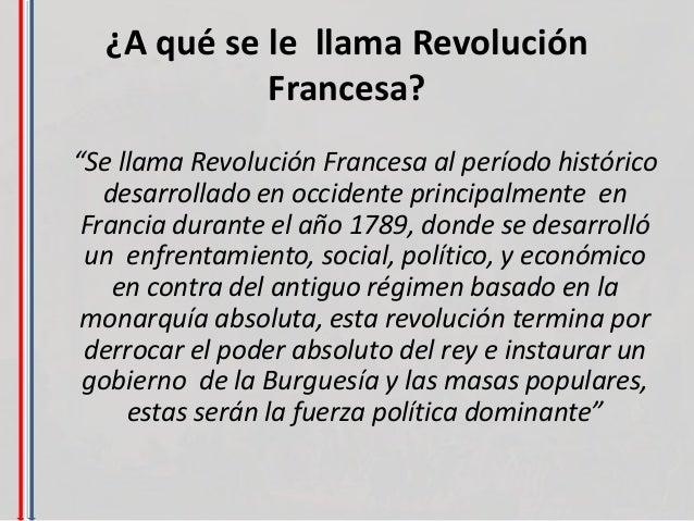 La revolución francesa ppt Slide 3