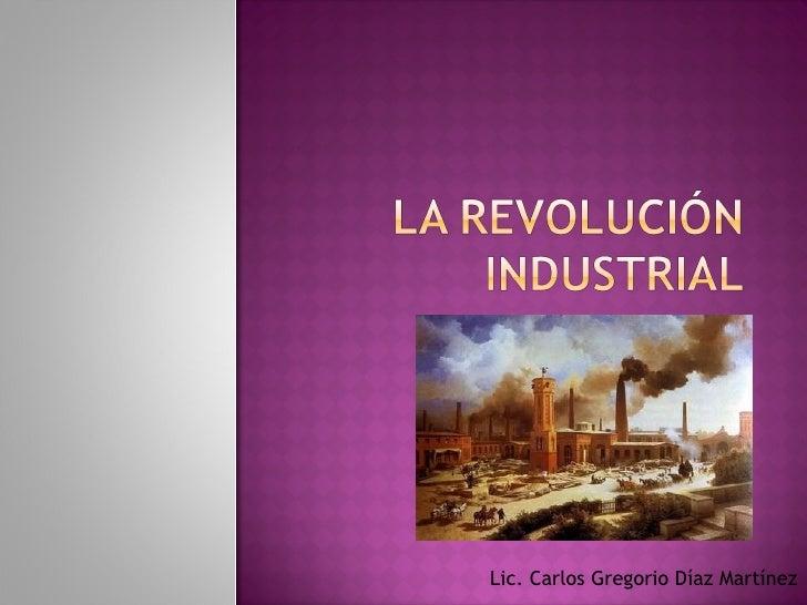 Lic. Carlos Gregorio Díaz Martínez