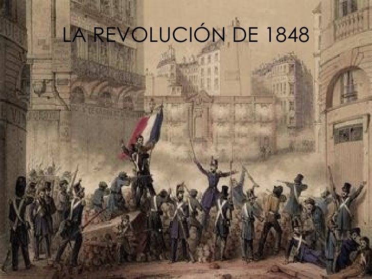 LA REVOLUCIÓN DE 1848