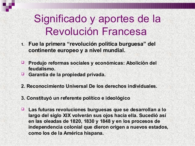 La Revolucion Francesa Slideshare