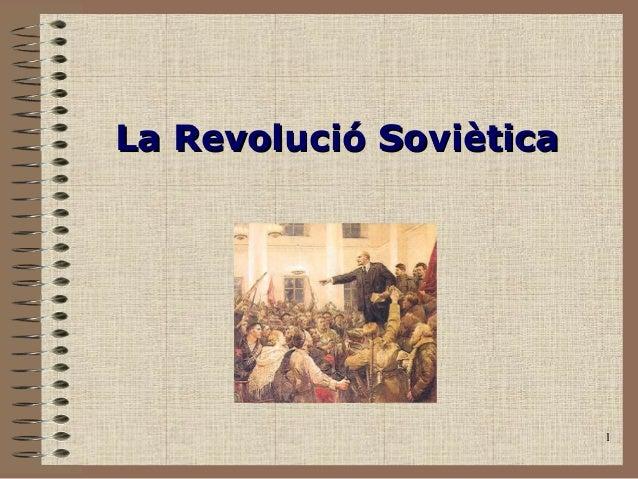 La Revolució Soviètica