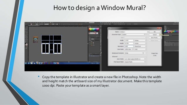 How to design aWindow ...