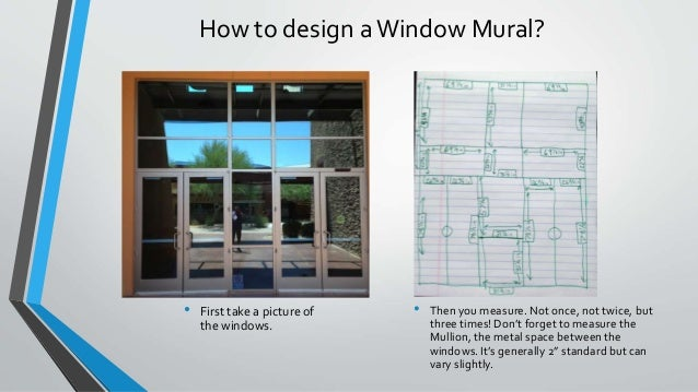 How to design aWindow ... & Introduction to Large Format - How to design a window graphic
