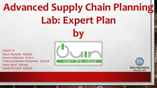 Advanced supply chain planning best chain 2018 laying the foundation for advanced supply chain planning in publicscrutiny Images