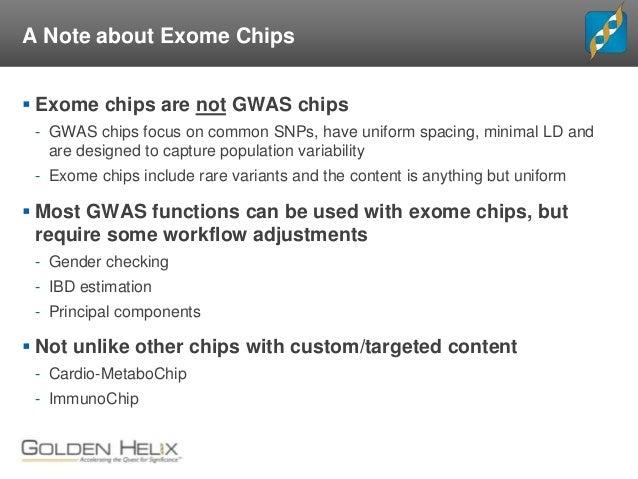 Exome Chip Design - Genome Analysis Wiki
