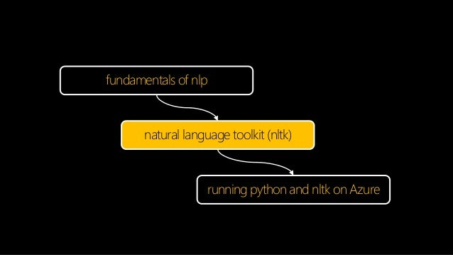 Large scale nlp using python's nltk on azure