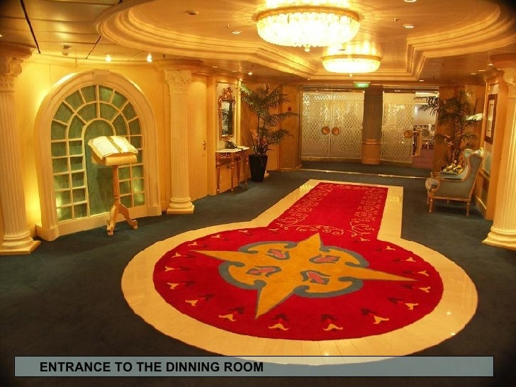 ENTRANCE TO THE DINNING ROOM
