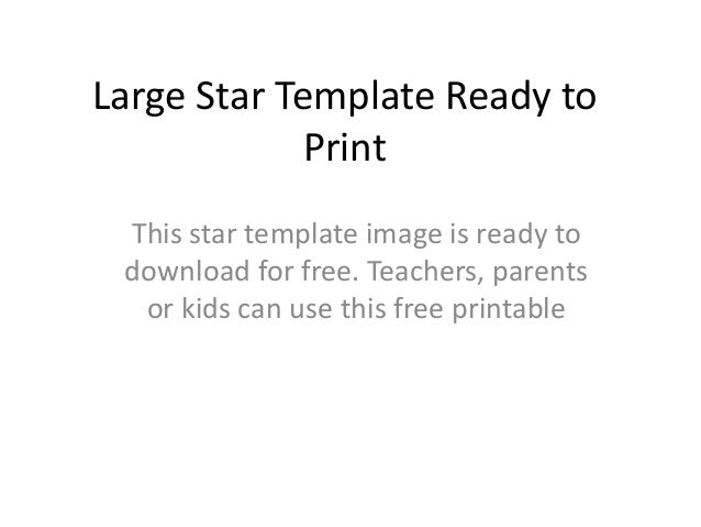 image regarding Star Template Free Printable identified as Star templates Printable for An Get together