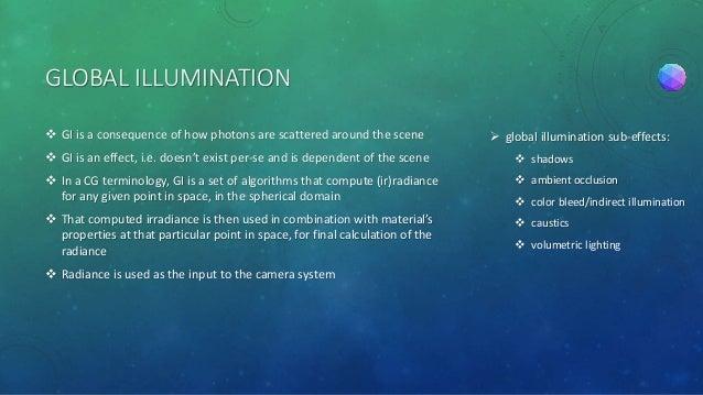 Global illumination Slide 3