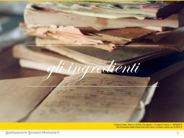 gli ingredienti Featured image: Photo by Jill Ferry Photography – Immagine Creative n. 167925474 http://www.gettyimages.it...