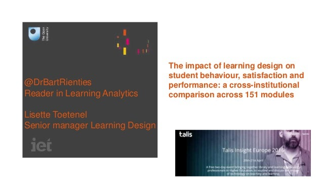 Impact Of Classroom Design On Learning ~ Talis presentation the impact of learning design on