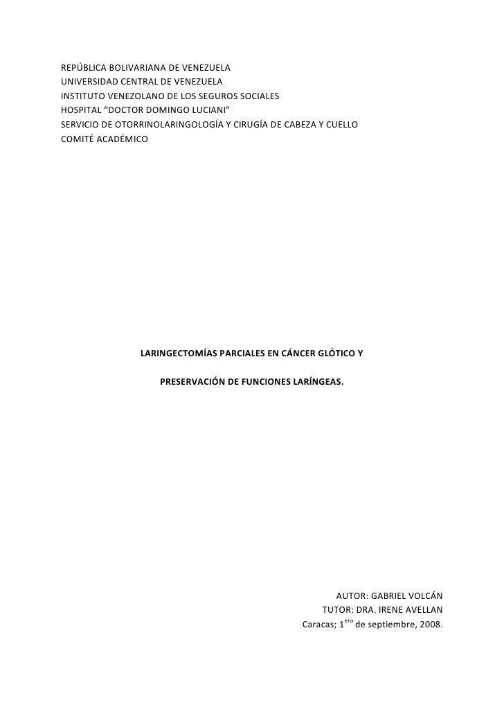 REPÚBLICA BOLIVARIANA DE VENEZUELA<br />UNIVERSIDAD CENTRAL DE VENEZUELA<br />INSTITUTO VENEZOLANO DE LOS SEGUROS SOCIALES...