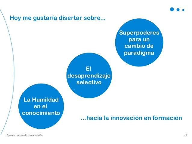 Visión y paradigmas de la tecnología en el ámbito de la formación. Slide 3