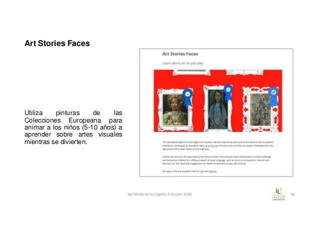 Art Stories Faces Utiliza pinturas de las Colecciones Europeana para animar a los niños (5-10 años) a aprender sobre artes...