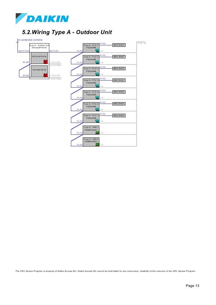 Daikin Vrv Wiring Diagram - Dolgular.com