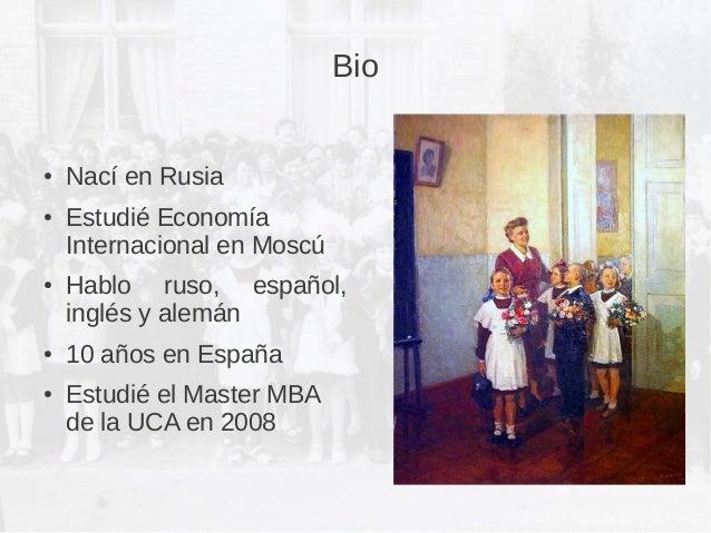Comercio Exterior Brandy Rusia Slide 2