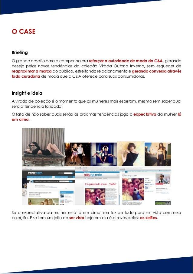 Young Lions 2016 - Case Larissa Deliberai - Selfie C&A Slide 3