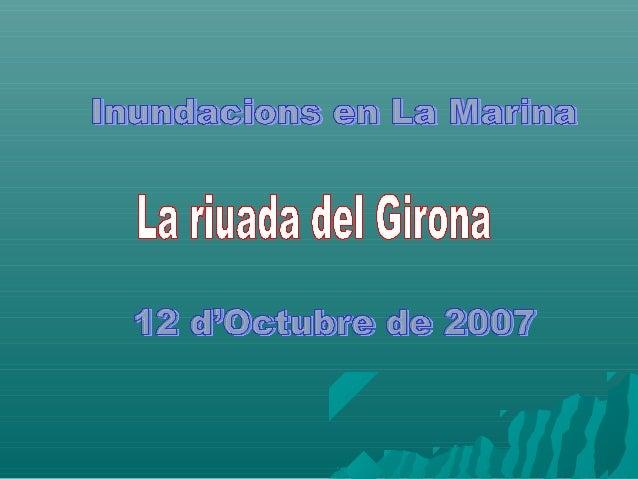 El pont del GironaEl pont del Girona