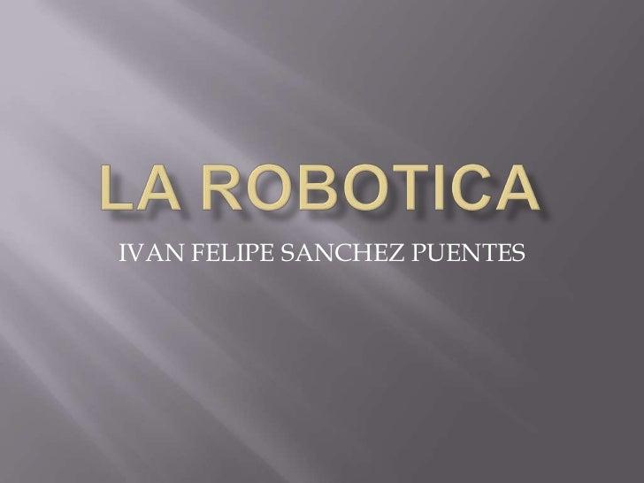 IVAN FELIPE SANCHEZ PUENTES