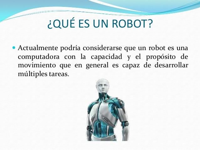 La robotica informatica 1 - Que hace un robot de cocina ...