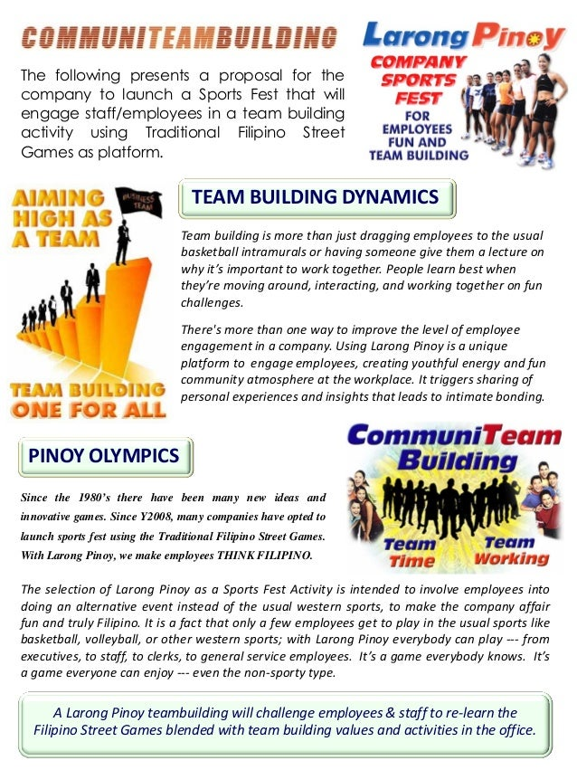 team building speech example