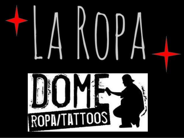 1.- ¿QUÉ ES LA ROPA O LA INDUMENTARIA?2.- UTILIDADES DE LA ROPA3.- MATERIALES DE CONFECCIÓN DE LAROPA4.- HISTORIA DE LA RO...